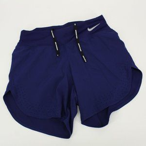 Nike Running Dri-Fit Navy Blue Athletic Shorts